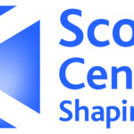 Scotland's Cencus 2021 - shaping our future. With Saltire flag.